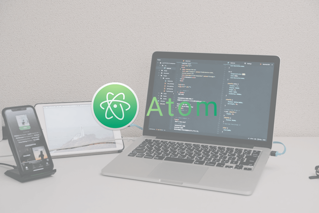 Atom image blog