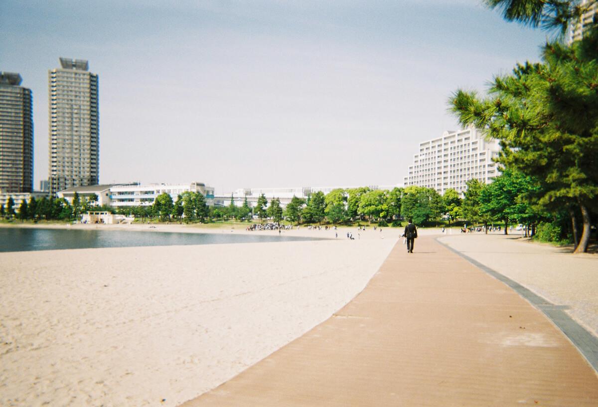 砂浜の様子2