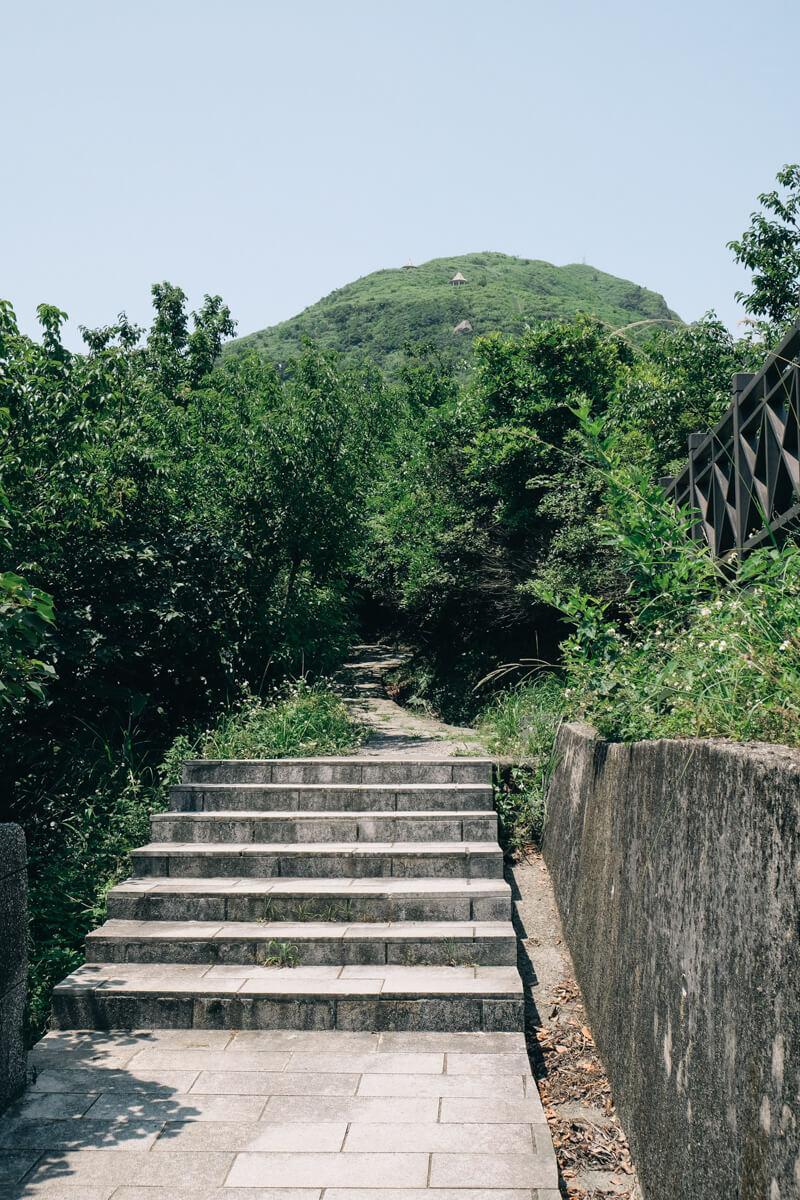 基隆山登山