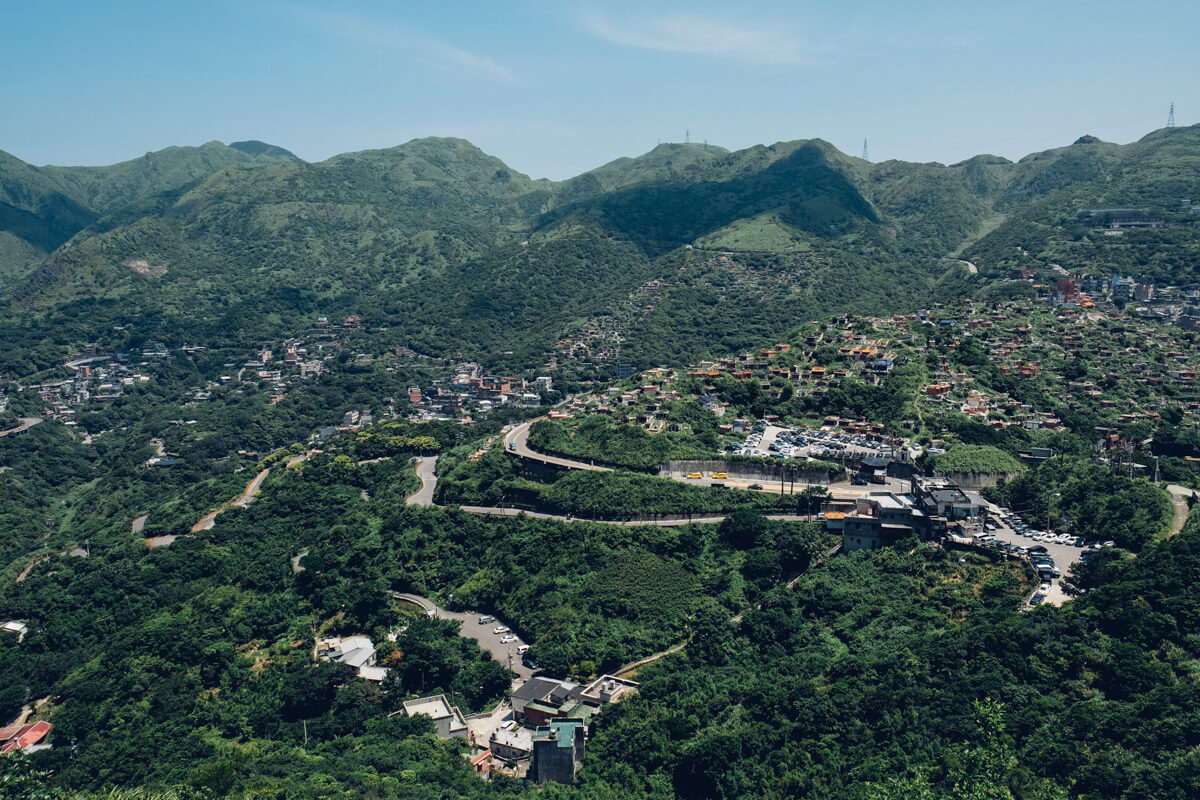 基隆山から見える景色
