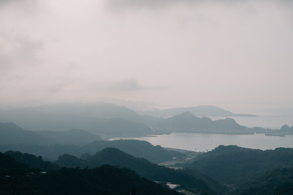 基隆山からの景色