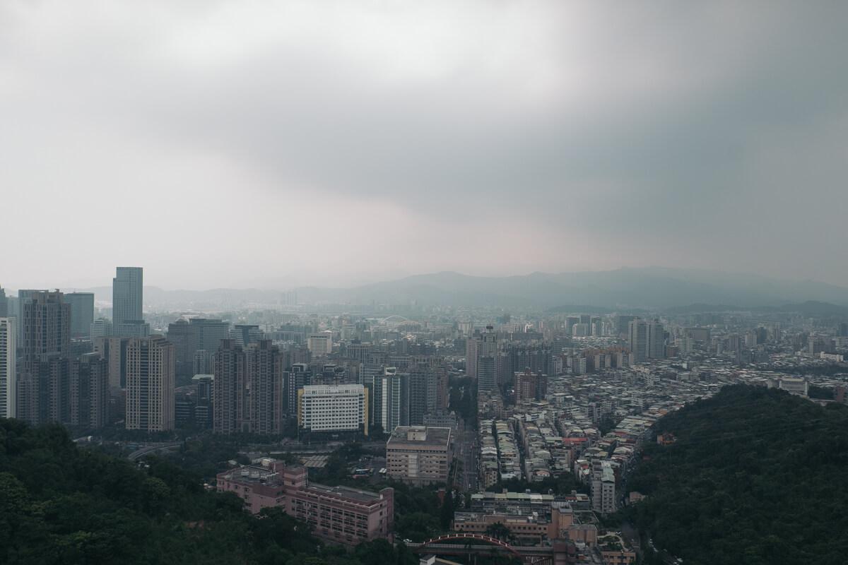 像山からの景色