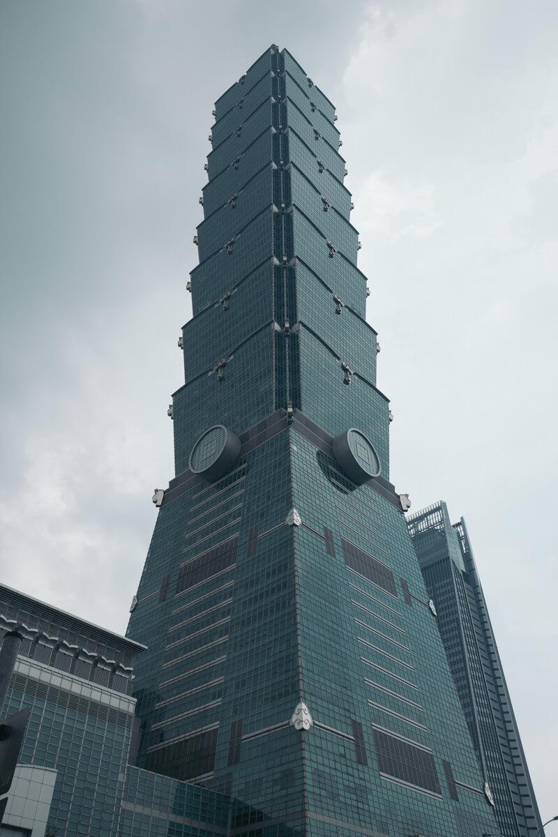 台北101真下