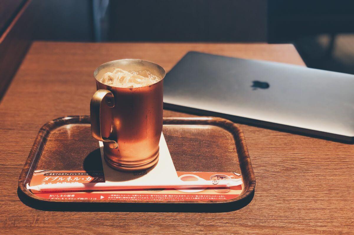 上島珈琲の黒糖ミルクコーヒー