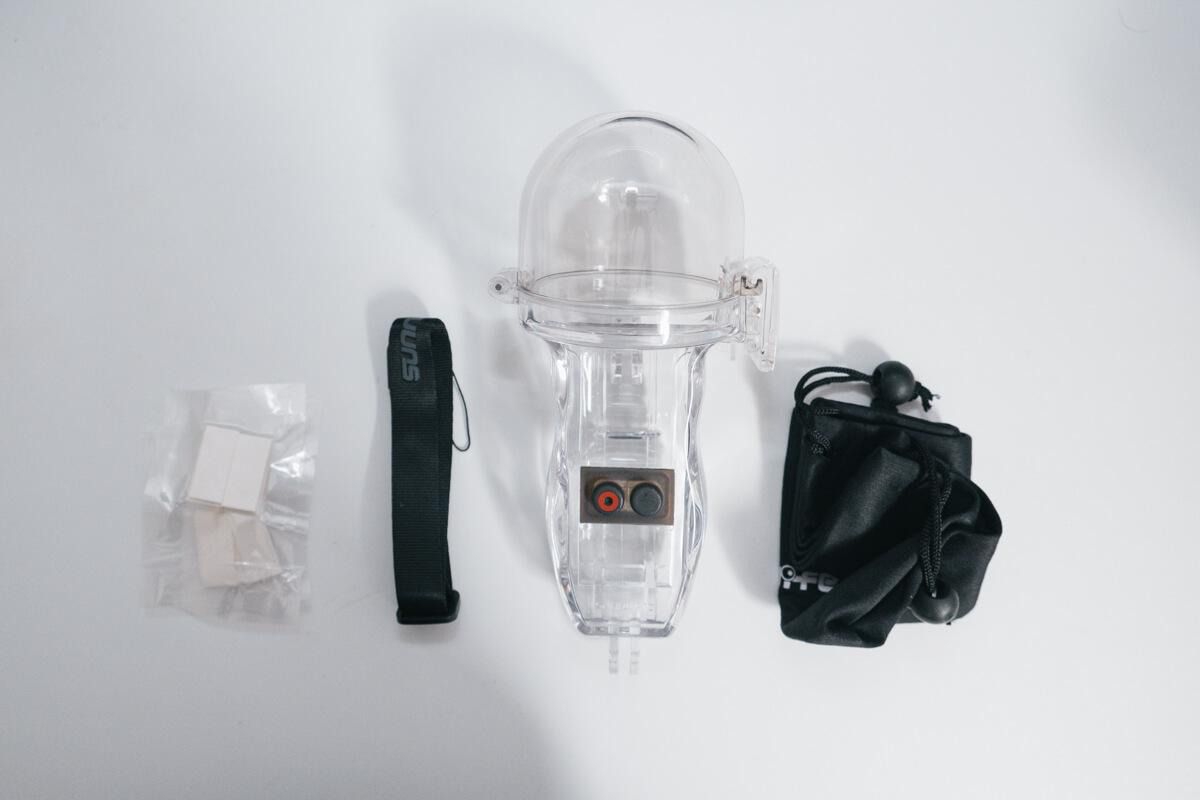 osmo pocket 防水ケースの付属品