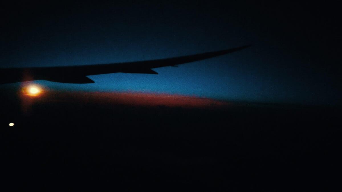 深夜便の景色